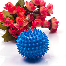 Blue Soften Cloth Drying Washing Laundry Dryer Magical Ball Laundry Products Accessories 1PC Cleaning Tools ZQ670221(China)