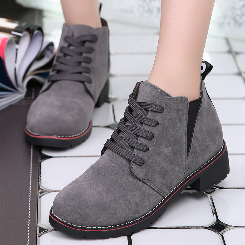 High quality woman boots size 35-39 motorcycle chelsea boots black  Martin boots shoes zapatos mujer ankle  snow warm W8088W <br><br>Aliexpress