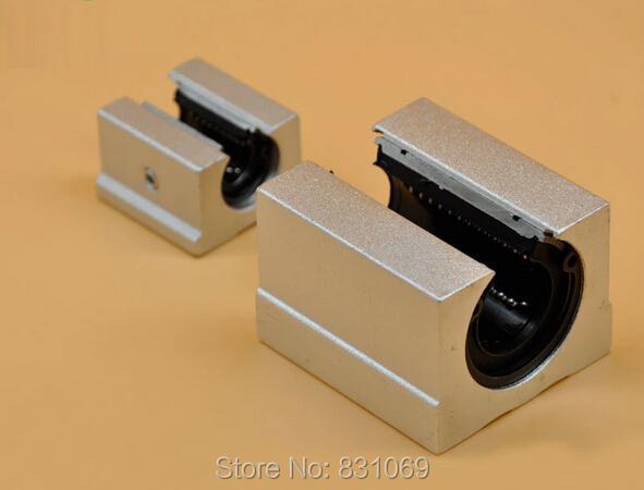 2pcs SBR12UU 12mm Open Linear Bearing Slide Linear Motion Brand New <br><br>Aliexpress