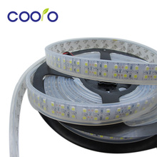 3528Led strip Double Row 240LEDs/m,LED strip 3528 flexible light ,IP67 Waterproof,DC12V ,5m/lot White/Warm white ,Free shipping(China)