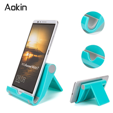 Aokin Universal Flexible Desk Stand Phone Holder For iPad iPhone 7 6s Sony Mobile Phone Stand For Samsung S6 S8 HTC Holders(China)