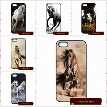 customize Running Horse Phone Cover case for iphone 4 4s 5 5s 5c 6 6s plus samsung galaxy S3 S4 mini S5 S6 Note 2 3 4  AM0686