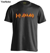 Def Leppard Mens & Womens Fashion Cool Letters T shirt