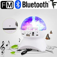 LED RGB dmx stage light effect portable bluetooth speaker colorful with MP3 Speaker FM Radio Professional for Party KTV Disco DJ