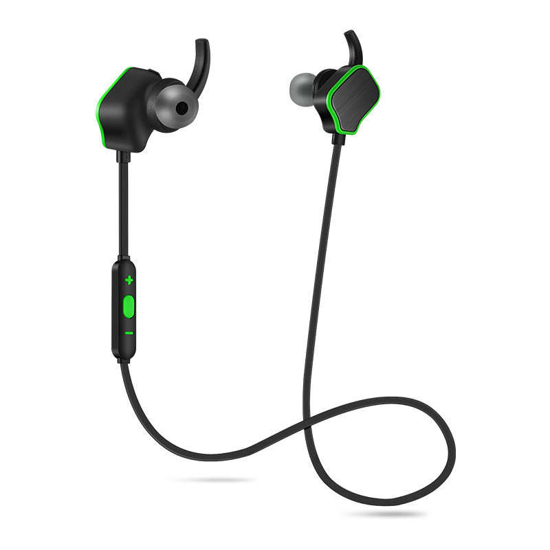 New Design Earphone Bluetooth Headset Deep Bass Wireless Earbuds Magnetic Switch with Mic for Huawei Honor 5X<br>