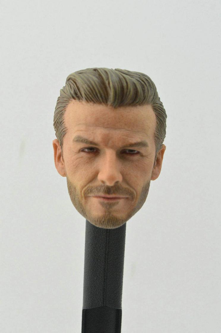 1//6 David Beckham Head Sculpt PHICEN M33 Seamless Muscular Male Figure Set USA