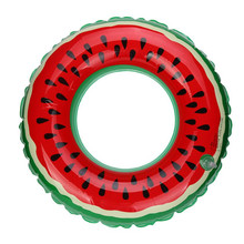 HOT Swimming Pool Inflatable Watermelon Newborn Baby Infants Young Childrens Swim Ring Adult Fruit Swim Ring Floating Ring(China)