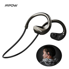 2017 Mpow new Headphones wireless Bluetooth 4.1 IPX4 waterproof headset handsfree Super high Quality Sports headphone ear fone(China)