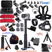 Buy TuoWei Gopro Accessories gopro accessories set gopro hero 5 hero 4 hero3 kit Xiaomi yi Camera sjcam accessories GS38 for $42.42 in AliExpress store