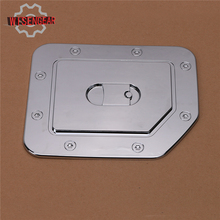Fuel Tank Gas Door Cap Cover for Nissan Titan 2004-2014 Triple Chrome Plated ABS  Car-styling #RC021