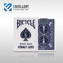 1Pcs Red Or Blue Color Deck Bicycle Playing Cards Poker Size USPCC Limited Metal Foil New Sealed Magic props Magia Tricks Deck
