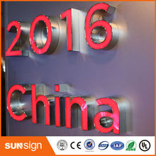 custom sign letters China manufacturer provide LED channel letters sign