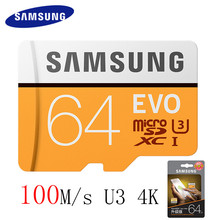 Buy SAMSUNG 100MBS TF Card Memory Card 128GB 64GB 32GB Micro SD Card Class10 U3 Microsd Flash TF Card SDHC SDXC Computer for $5.32 in AliExpress store