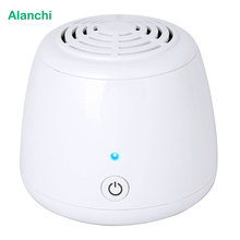 Alanchi Home USB Air Purifier Mini Desktop Aroma Diffuser Air Cleaner Support HEPA filter Ionizer Fan 1pcs/lot