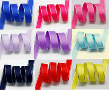 High Sliver Metallic Edge Grosgrain Ribbon DIY Supplier in Many Colors & Sizes 6mm 9mm 16mm 25mm 38mm