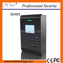 Hotsale standalone TCP/IP RFID card access control system with free software and SDK sc403(China)