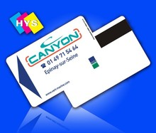 plastic credit card and discount cards supply(China)