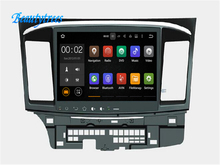 Beautytrees Android 10.1 car autoradio GPS Radio for Mitsubishi Lancer X Mitsubishi Galant Fortis car radio dvd player(China)