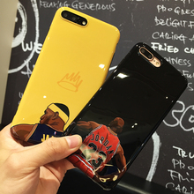 Skin Air Jordan 23 NBA Cases Fundas Coque For Apple iPhone 6 6S Plus 7 7 Plus Basketball star LeBron James Soft TPU Cover shell