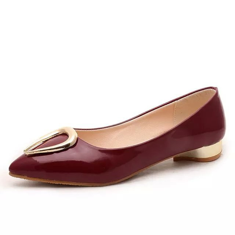 Fashion Women Shoes Woman Flats high quality suede Casual Comfortable Pointed Toe Rubber Women Flat Shoes New Solid Flats 2016<br><br>Aliexpress