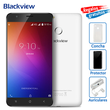 Blackview E7 4G Mobile Phone 5.5 inch IPS HD MTK6737 Quad Core Android 6.0 1GB RAM 16GB ROM 8MP Cam Fingerprint ID Smartphone