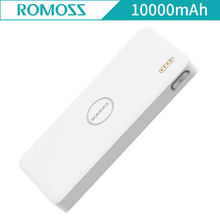 ROMOSS PB10 Air 10000mAh Power Bank External Battery Li-polymer Power bank Backup Battery Pack Dual USB Portable Charger PB10(China)