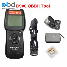 New Universal D900 OBD2 Scanner Car Engine Code Reader D900 EOBD OBDII Diagnostic Tool For Multi Brand Cars 2015 Version