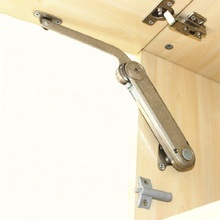 Adjustable Lift Up Kitchen Cabinet Cupboard Flap Up Door Lifter lid heavy mechanical support buffer(China)