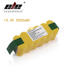 ELEOPTION Ni-MH 14.4V 3500mAh For iRobot Roomba Vacuum Cleaner for 500 560 530 510 562 550 570 610 650 Rechargeable Battery Pack