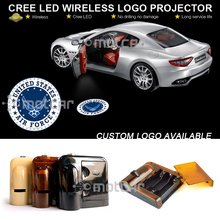Car Door Step Courtesy Welcome Light Ghost Shadow Puddle Emblem Spotlight Projector Laser United States Air Force Logo Light(China)