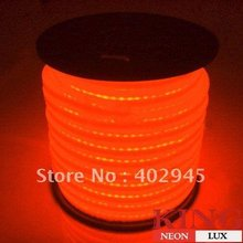 LED Neon Flex Orange LED soft neon light LED Flexible neon strip LED neon rope lights 240V EMS express shipping(China)