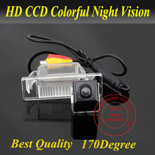 Promotion Fit for 2012 Nissan X-Trail CCD NTSC Car Reverse Rear View Backup Camera Waterproof 170 Degree Night Vision