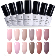 Buy BORN PRETTY 5ml Soak LED UV Nail Gel Polish Nude Series Long Lasting UV Nail Lacquer DIY Nail Varnish Manicure for $1.14 in AliExpress store
