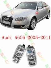 For audi A6 C6  2005/06/07/08/09/10/11  Car styling Side Turn Signals  Warning Light  Remind lamp  1 SET  8E0 949 127