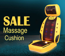 Free Shipping Magnetic Neck Body Massage Mat with Tourmaline and Vibro Roller,Open Back Electric Infrared Impulse Massage Chair(China)