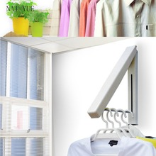 Stainless Steel Adjustable Clothes Stand Indoor Folding Clothes Stand Simple Modern Style Household Items