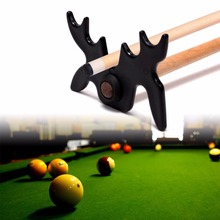 Snooker Billiards Cue Rack Bridge Head Billiards Cross Antlers Rod Holder Pool Cue Stick Frame Pole Rack Rod Accessory