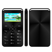 Hot Sale Mini Credit Card Mobile Phone DAXIAN GS6 1.7 inch GSM Slim Small Bluetooth Dialer Card Cellular Phone VS AIEK M5/M3(China)