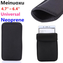 Universal Elasti Neoprene Protective Pouch Bag Sleeve Case For iphone 3G 4 5S 6 7 Plus For Samsung S8 PLUS