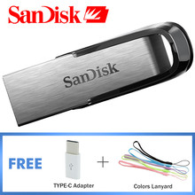 SanDisk Usb 3.0 Flash Drive Pendrive 64 gb Stick Pen Drive 16 gb USB 32 gb Mini Pen Drive Metal Memory Storage CZ73 Original