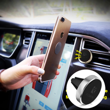 FLOVEME Car Phone Holder Magnetic Air Vent Car-styling GPS Support For iPhone 7 6 5S Samsung Huawei Mount Stand holder for phone(China)