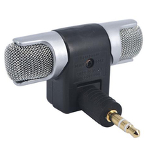 Newest Electret Condenser Mini Microphone Stereo Voice MIC 3.5mm for PC for Universal Computer Laptop