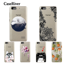 CaseRiver Soft Silicone Huawei Honor 4C Case Cover Colored Painting TPU Back Protective Fundas Huawei Honor 4C Phone Case