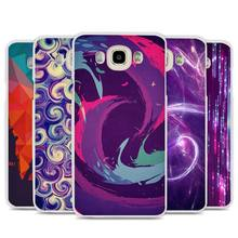 Dust In Purple Light Artistic Cell Phone Case Cover for Samsung Galaxy J1 J2 J3 J5 J7 C5 C7 C9 E5 E7 2016 2017 Prime