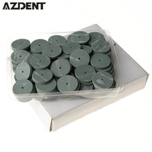100pcs/Bag   Lab Rubber Polishing Wheels Burs  Teeth Whitening Oral Hygiene  Silicone Polishers