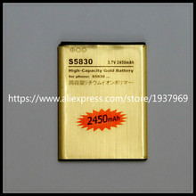 For S5830 battery Gold Li-ion Replacement Battery EB494358VU for Galaxy Ace S5830 GT-S5830 S5830i i569 i579 s5670 battery
