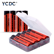 Buy YCDC 2-20Pcs/box Li-ion 18650 Rechargeable Batteries 3.7V 3000mAh Power Bank Lithium Battery Charger led Flashlight battery for $4.03 in AliExpress store