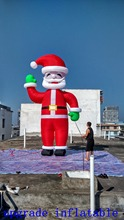 giant inflatable santa claus,lighted santa claus outdoor christmas decorations