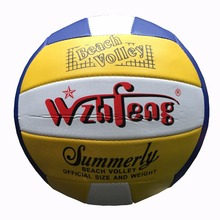 Outdoor Indoor Official Size 5 Sand Beach Volleyball Game Ball Soft PU Leather Match Training Volleyball Handball Ball Voleibol
