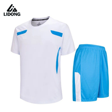 New boys mens Survetement football jerseys set breathable Kids soccer jersey Paintless shirts sports wear teens kits DIY custom(China)